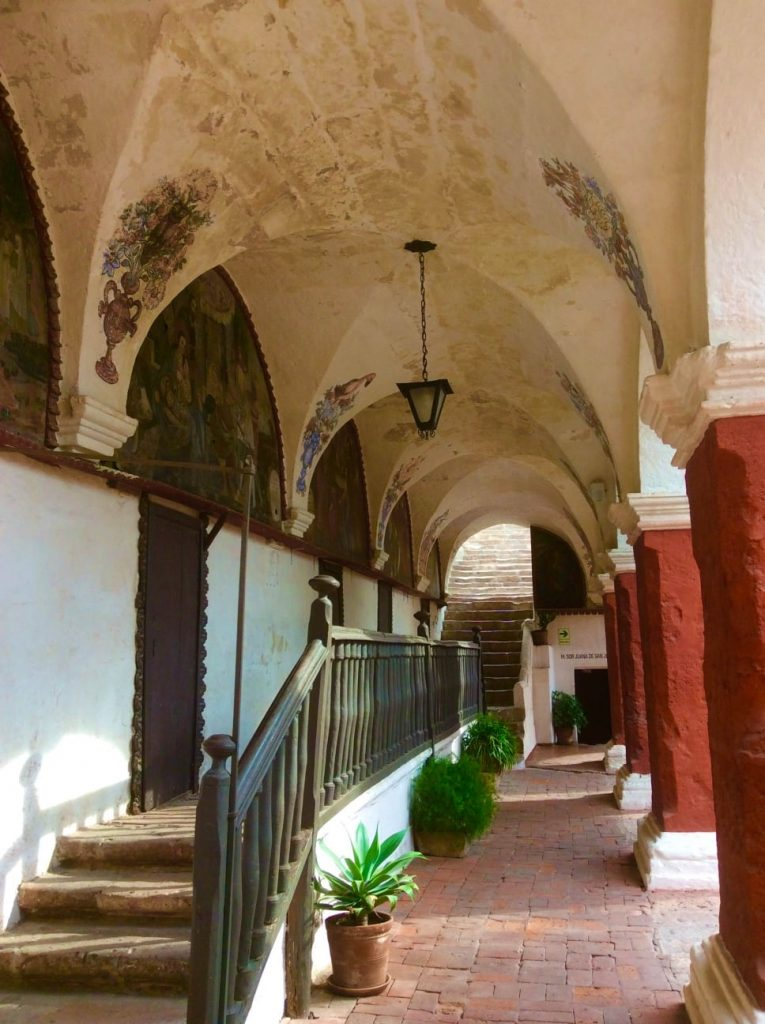 Galerie Couvent Santa Catalina Arequipa Pérou
