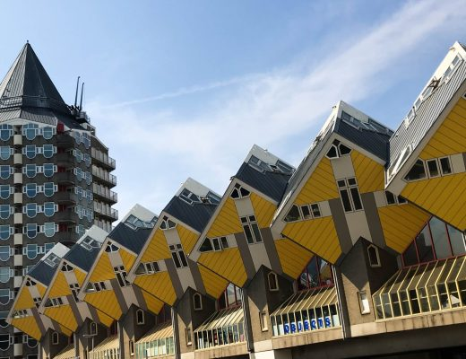 les maisons cubes de Rotterdam Pays-Bas