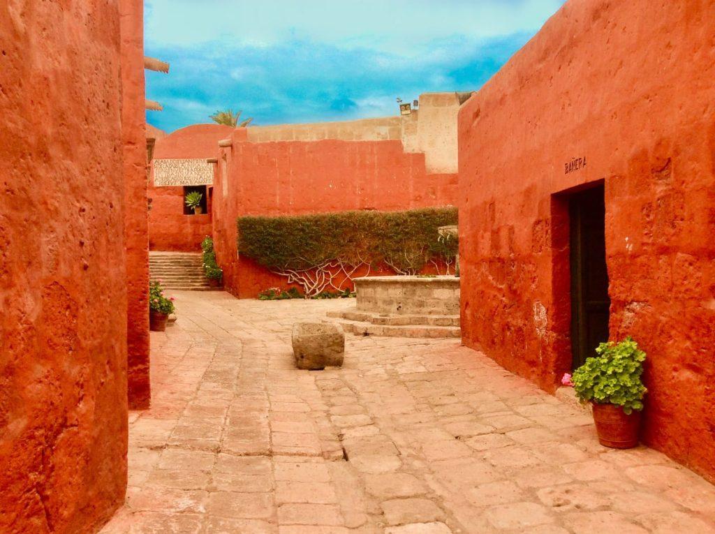 rue Couvent Santa Catalina Arequipa Pérou
