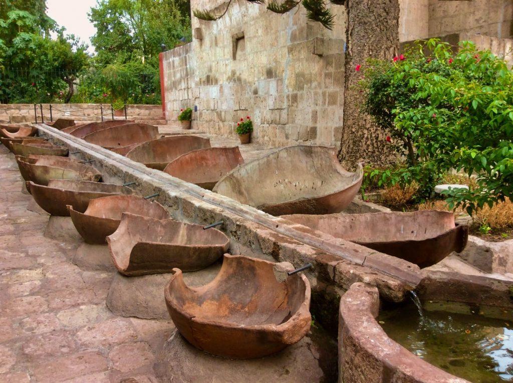 Abreuvoir Couvent Santa Catalina Arequipa Pérou