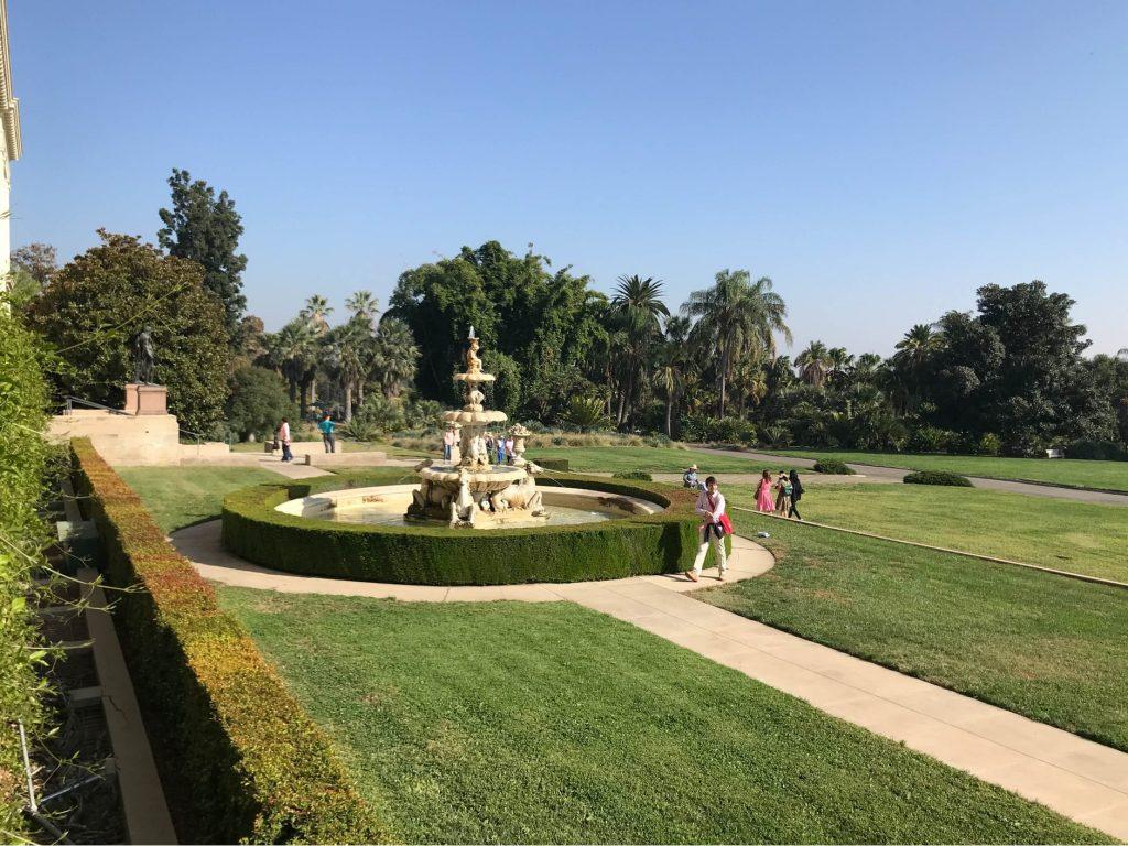 Fontaine principale fondation Huntington Californie