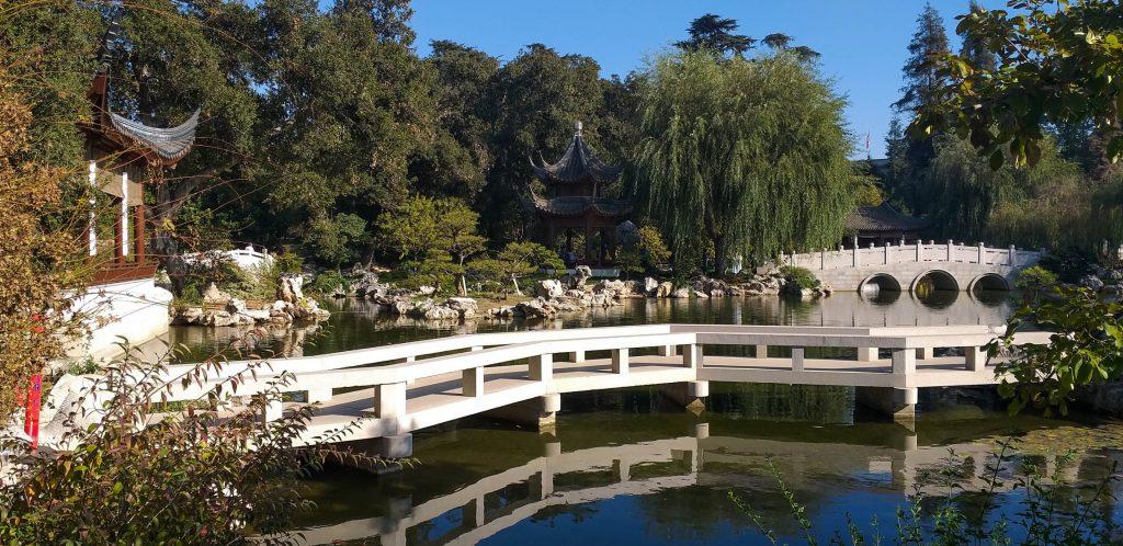 Jardin chinois fondation Huntington Californie