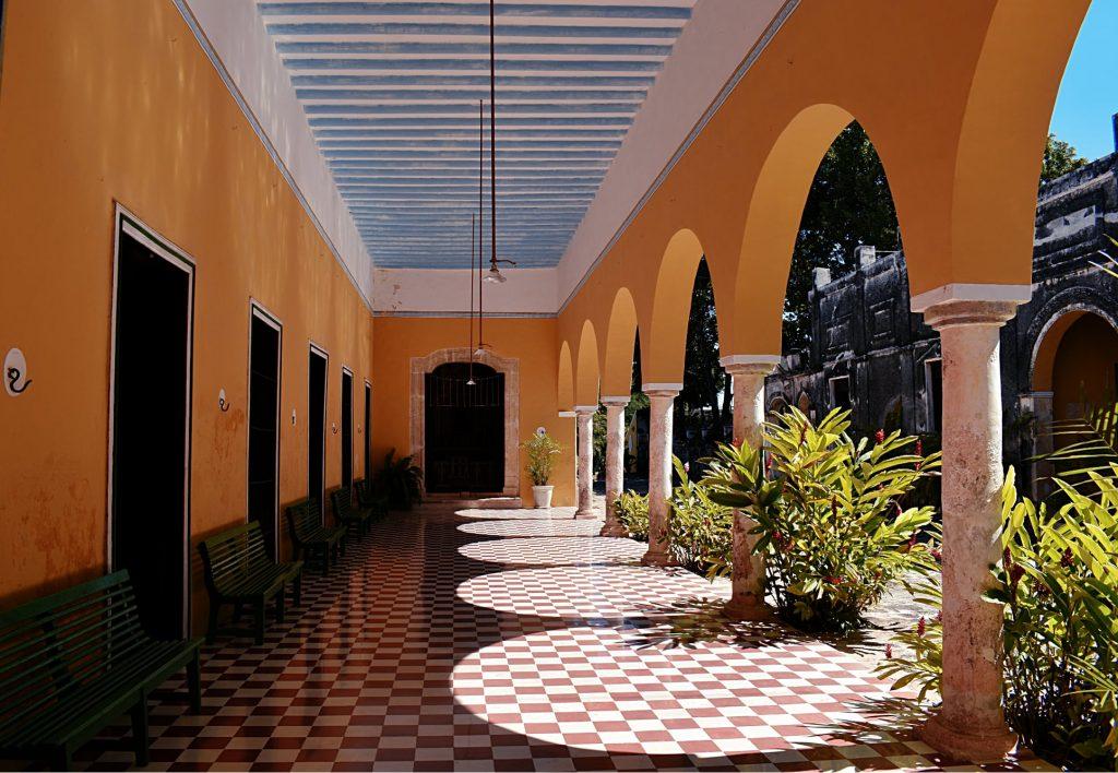 Hacienda museum Yaxcopoil in Yucatan