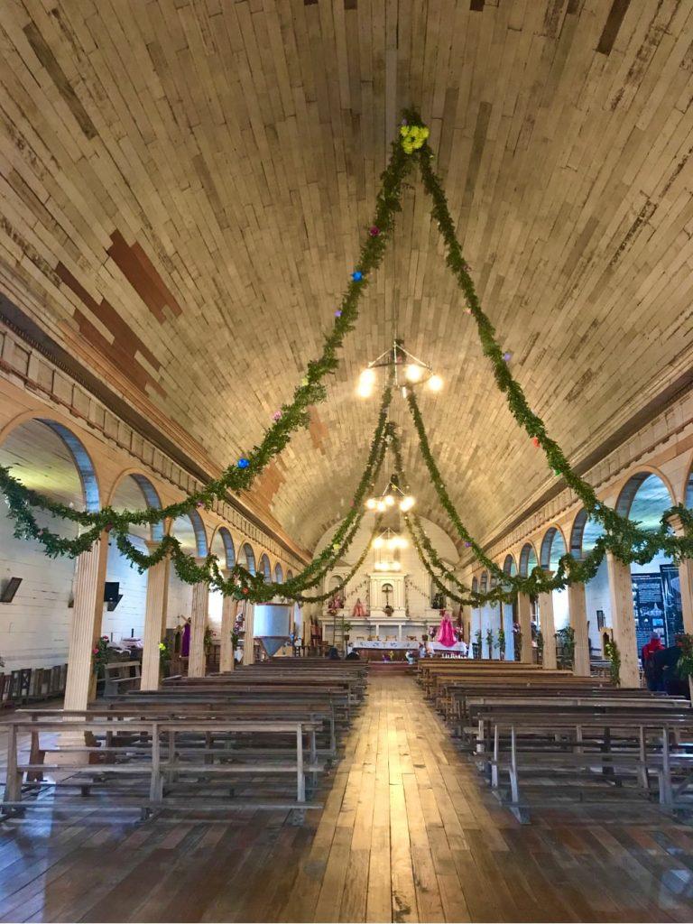 Iglesia de Chiloé , Patagonia