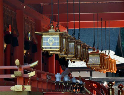 Lanternes temple